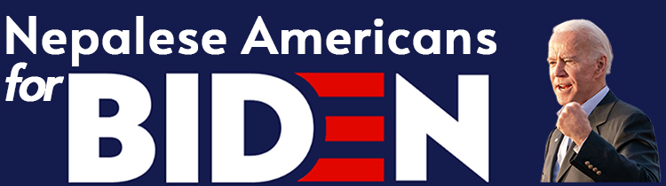 Nepalese American for Biden